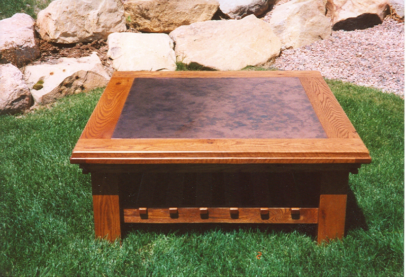 Coffee Table Copper Top Tables With Regard To Fetching - Round Copper Top Coffee Table - Best Furniture 2017